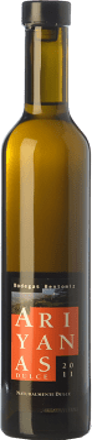 22,95 € Free Shipping | Sweet wine Bentomiz Ariyanas Naturalmente D.O. Sierras de Málaga Andalusia Spain Muscat of Alexandria Half Bottle 50 cl