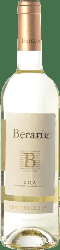6,95 € Envoi gratuit | Vin blanc Berarte Demi Sec D.O.Ca. Rioja La Rioja Espagne Viura Bouteille 75 cl