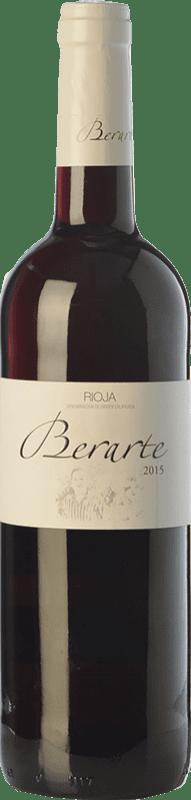 6,95 € Free Shipping | Red wine Berarte Joven D.O.Ca. Rioja The Rioja Spain Tempranillo Bottle 75 cl