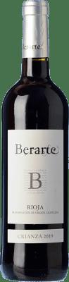 10,95 € Free Shipping | Red wine Berarte Crianza D.O.Ca. Rioja The Rioja Spain Tempranillo Bottle 75 cl