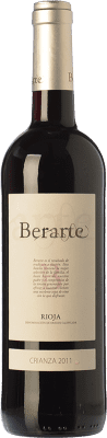 9,95 € Kostenloser Versand | Rotwein Berarte Crianza D.O.Ca. Rioja La Rioja Spanien Tempranillo Flasche 75 cl