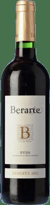 9,95 € Kostenloser Versand | Rotwein Berarte Reserva D.O.Ca. Rioja La Rioja Spanien Tempranillo Flasche 75 cl