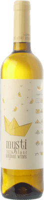 9,95 € Envío gratis | Vino blanco Berdié Mysti Blanc D.O. Penedès Cataluña España Xarel·lo, Moscatel Grano Menudo Botella 75 cl