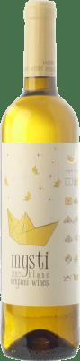 9,95 € Kostenloser Versand | Weißwein Berdié Mysti Blanc D.O. Penedès Katalonien Spanien Xarel·lo, Muscat Kleinem Korn Flasche 75 cl