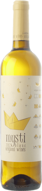 9,95 € Free Shipping | White wine Berdié Mysti Blanc D.O. Penedès Catalonia Spain Xarel·lo, Muscatel Small Grain Bottle 75 cl