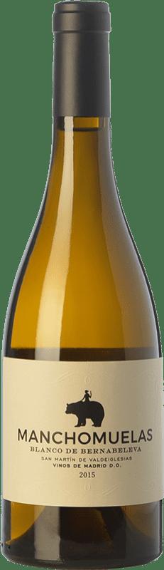 19,95 € Envío gratis | Vino blanco Bernabeleva Manchomuelas Crianza D.O. Vinos de Madrid Comunidad de Madrid España Viura, Albillo, Malvar Botella 75 cl