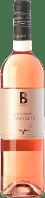 9,95 € Free Shipping | Rosé wine Bernaví 21 Ventuno D.O. Terra Alta Catalonia Spain Grenache Bottle 75 cl