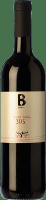 9,95 € Free Shipping | Red wine Bernaví 3d3 Joven D.O. Terra Alta Catalonia Spain Merlot, Syrah, Grenache Bottle 75 cl