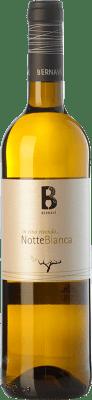 8,95 € Free Shipping | White wine Bernaví Notte Bianca D.O. Terra Alta Catalonia Spain Grenache White, Viognier Bottle 75 cl