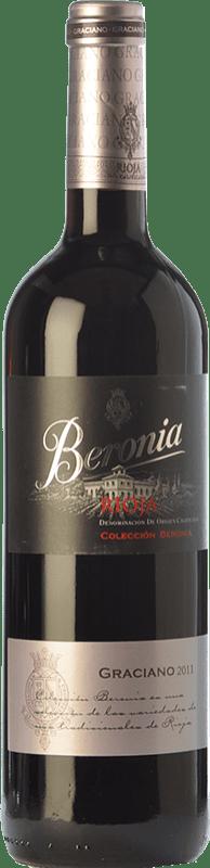11,95 € Envío gratis | Vino tinto Beronia Joven D.O.Ca. Rioja La Rioja España Graciano Botella 75 cl