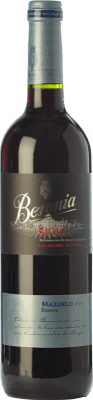 19,95 € Kostenloser Versand | Rotwein Beronia Reserva D.O.Ca. Rioja La Rioja Spanien Mazuelo Flasche 75 cl