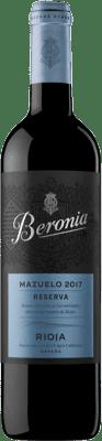 Vin rouge Beronia Reserva 2010 D.O.Ca. Rioja La Rioja Espagne Mazuelo Bouteille 75 cl
