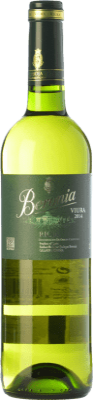 7,95 € Kostenloser Versand | Weißwein Beronia D.O.Ca. Rioja La Rioja Spanien Viura Flasche 75 cl