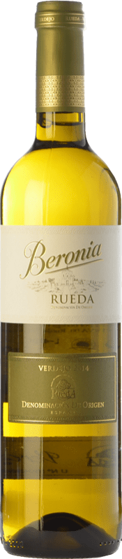 8,95 € Free Shipping | White wine Beronia D.O. Rueda Castilla y León Spain Verdejo Bottle 75 cl