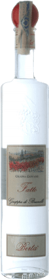 33,95 € Free Shipping | Grappa Berta Il Fatto Giovane di Brunello Piemonte Italy Bottle 70 cl