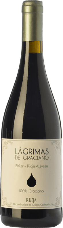 9,95 € Envoi gratuit | Vin rouge Bhilar Lágrimas Joven D.O.Ca. Rioja La Rioja Espagne Graciano Bouteille 75 cl