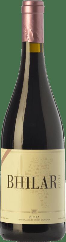 12,95 € Free Shipping | Red wine Bhilar Crianza D.O.Ca. Rioja The Rioja Spain Tempranillo, Grenache, Viura Bottle 75 cl