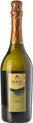 15,95 € Free Shipping   White sparkling Bisol Salis Dry D.O.C.G. Prosecco di Conegliano-Valdobbiadene Treviso Italy Glera Bottle 75 cl.   Thousands of wine lovers trust us to get the best price guarantee, free shipping always and hassle-free shopping and returns.