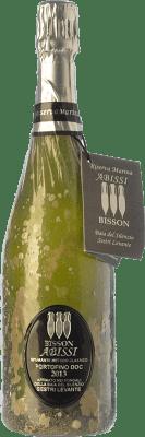 49,95 € Free Shipping | White sparkling Bisson Abissi Dosage Zero I.G.T. Portofino Liguria Italy Vermentino, Pigato, Bianchetta Bottle 75 cl