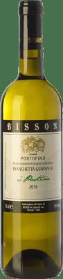 12,95 € Free Shipping | White wine Bisson U Pastine I.G.T. Portofino Liguria Italy Bianchetta Bottle 75 cl