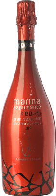 5,95 € Free Shipping | Red sparkling Bocopa Marina Espumante D.O. Alicante Valencian Community Spain Monastrell Bottle 75 cl
