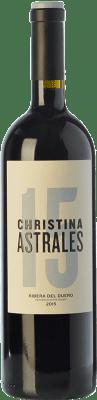 42,95 € Free Shipping   Red wine Astrales Christina Crianza D.O. Ribera del Duero Castilla y León Spain Tempranillo Bottle 75 cl