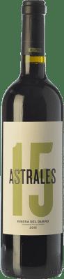 27,95 € Free Shipping   Red wine Astrales Crianza D.O. Ribera del Duero Castilla y León Spain Tempranillo Bottle 75 cl