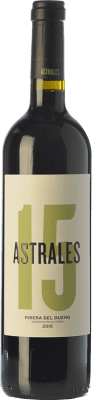 27,95 € Envoi gratuit | Vin rouge Astrales Crianza D.O. Ribera del Duero Castille et Leon Espagne Tempranillo Bouteille 75 cl