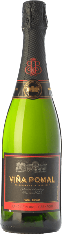 19,95 € Free Shipping | White sparkling Bodegas Bilbaínas Viña Pomal Brut Reserva D.O. Cava Catalonia Spain Grenache Bottle 75 cl. | Thousands of wine lovers trust us to get the best price guarantee, free shipping always and hassle-free shopping and returns.