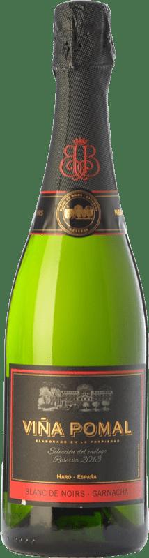 21,95 € Envio grátis | Espumante branco Bodegas Bilbaínas Viña Pomal Brut Reserva D.O. Cava Catalunha Espanha Grenache Garrafa 75 cl