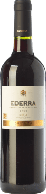 6,95 € Free Shipping | Red wine Bodegas Bilbaínas Ederra Crianza D.O.Ca. Rioja The Rioja Spain Tempranillo Bottle 75 cl