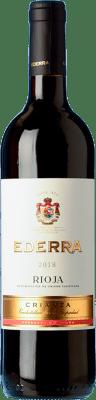 6,95 € Envoi gratuit | Vin rouge Bodegas Bilbaínas Ederra Crianza D.O.Ca. Rioja La Rioja Espagne Tempranillo Bouteille 75 cl