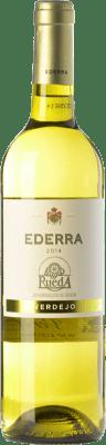 5,95 € Envío gratis   Vino blanco Bodegas Bilbaínas Ederra Verdejo Joven D.O. Rueda Castilla y León España Viura, Verdejo Botella 75 cl