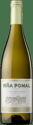 7,95 € 免费送货 | 白酒 Bodegas Bilbaínas Viña Pomal Crianza D.O.Ca. Rioja 拉里奥哈 西班牙 Viura, Malvasía 瓶子 75 cl | 成千上万的葡萄酒爱好者信赖我们,保证最优惠的价格,免费送货,购买和退货,没有复杂性.