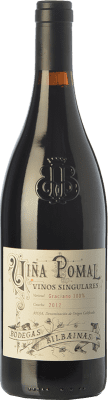 Vin rouge Bodegas Bilbaínas Viña Pomal Vinos Singulares Crianza D.O.Ca. Rioja La Rioja Espagne Graciano Bouteille 75 cl