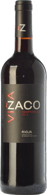 9,95 € Free Shipping | Red wine Bodegas Bilbaínas Viña Zaco Joven D.O.Ca. Rioja The Rioja Spain Tempranillo Bottle 75 cl