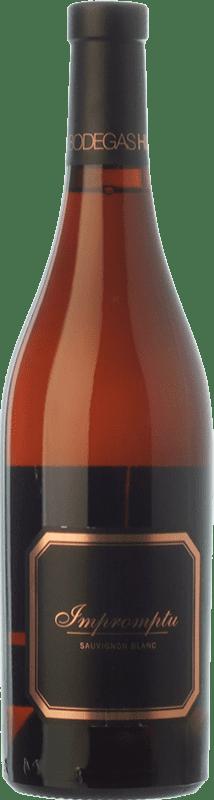17,95 € Envío gratis | Vino blanco Hispano-Suizas Impromptu Crianza D.O. Utiel-Requena Comunidad Valenciana España Sauvignon Blanca Botella 75 cl