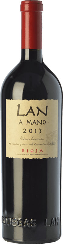29,95 € Free Shipping | Red wine Lan a Mano Crianza D.O.Ca. Rioja The Rioja Spain Tempranillo, Graciano, Mazuelo Bottle 75 cl