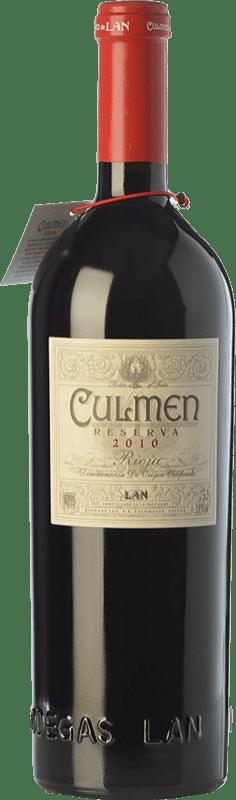 42,95 € Envoi gratuit | Vin rouge Lan Culmen Reserva D.O.Ca. Rioja La Rioja Espagne Tempranillo, Graciano Bouteille 75 cl