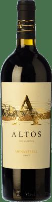 16,95 € Free Shipping | Red wine Luzón Altos de Luzón Crianza D.O. Jumilla Castilla la Mancha Spain Tempranillo, Cabernet Sauvignon, Monastrell Bottle 75 cl