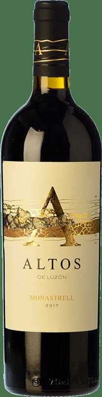 14,95 € Free Shipping | Red wine Luzón Altos de Luzón Crianza D.O. Jumilla Castilla la Mancha Spain Tempranillo, Cabernet Sauvignon, Monastrell Bottle 75 cl