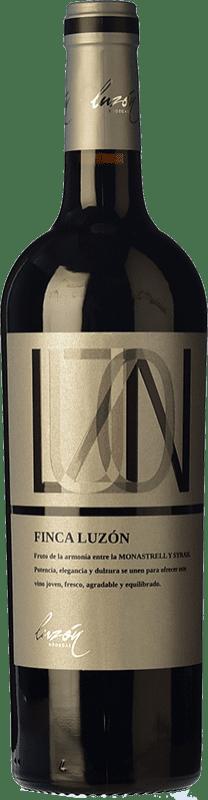 5,95 € Free Shipping | Red wine Luzón Finca Luzón Joven D.O. Jumilla Castilla la Mancha Spain Syrah, Monastrell Bottle 75 cl
