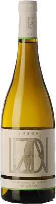 6,95 € Envoi gratuit | Vin blanc Luzón Crianza D.O. Jumilla Castilla La Mancha Espagne Macabeo, Airén Bouteille 75 cl