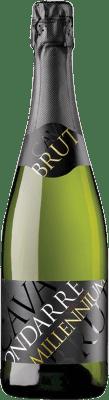 9,95 € Free Shipping | White sparkling Ondarre Millennium Brut Joven D.O. Cava Catalonia Spain Viura Bottle 75 cl