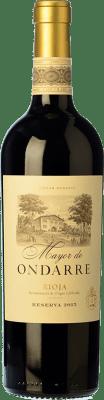 32,95 € Free Shipping | Red wine Ondarre Mayor de Ondarre Especial Reserva D.O.Ca. Rioja The Rioja Spain Tempranillo, Mazuelo Bottle 75 cl