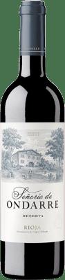 19,95 € Free Shipping | Red wine Ondarre Señorío de Ondarre Reserva D.O.Ca. Rioja The Rioja Spain Tempranillo, Grenache, Mazuelo Bottle 75 cl