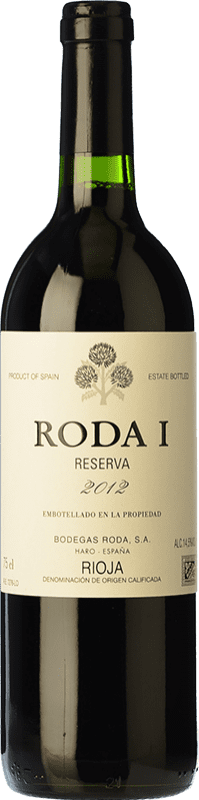 185,95 € Free Shipping | Red wine Bodegas Roda I Reserva D.O.Ca. Rioja The Rioja Spain Tempranillo Jéroboam Bottle-Double Magnum 3 L