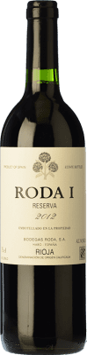 29,95 € Free Shipping | Red wine Bodegas Roda I Reserva D.O.Ca. Rioja The Rioja Spain Tempranillo Half Bottle 50 cl