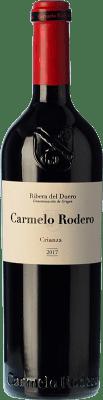 21,95 € Free Shipping | Red wine Carmelo Rodero Crianza D.O. Ribera del Duero Castilla y León Spain Tempranillo, Cabernet Sauvignon Bottle 75 cl