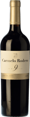 15,95 € Envoi gratuit | Vin rouge Carmelo Rodero 9 Meses Joven D.O. Ribera del Duero Castille et Leon Espagne Tempranillo Bouteille 75 cl